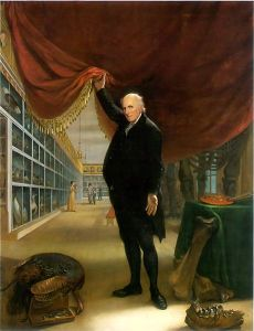 "Peale's ""The Artist in his Museum"""