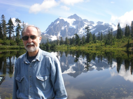Me at Picture Lake in the Mt. Baker-Snoqualmie National Forest