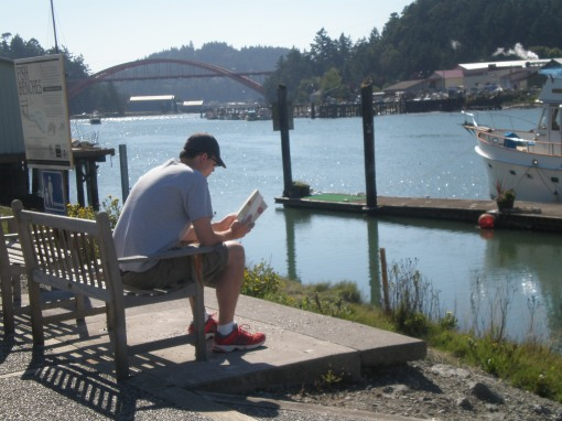 Elliot Ritzema by the Swinomish Channel, La Conner, Washington