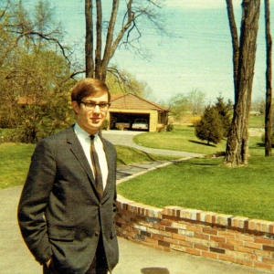 This is a picture of me taken sometime in the late '60s.