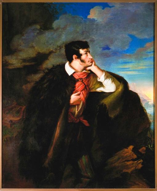 The Romantic Self: Looking Deep Within. Portrait of Romantic Poet Adam Mickiewicz by Walenty Wankowicz