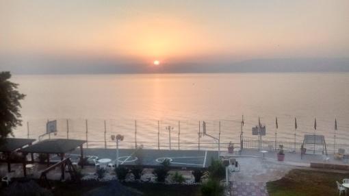 Sunrise, Sea of Galilee