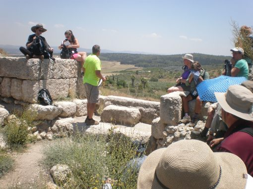 At the City Gate, Tel Gezer
