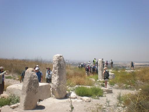 Massebot at Tel Gezer