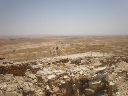 Canaanite ruins, Tel Arad