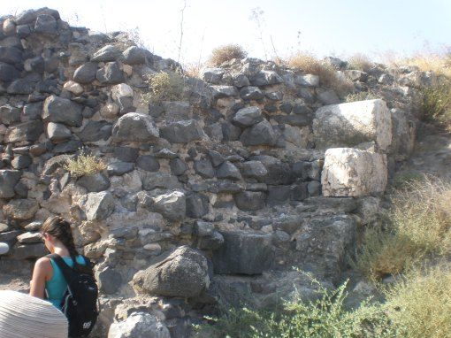 Wall Built from Rubble, Bet She'an
